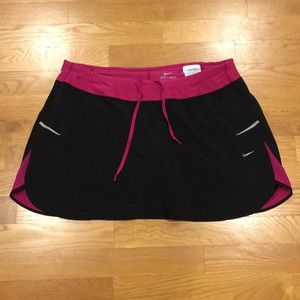 Nike Dri-Fit Running Skirt with Shorts